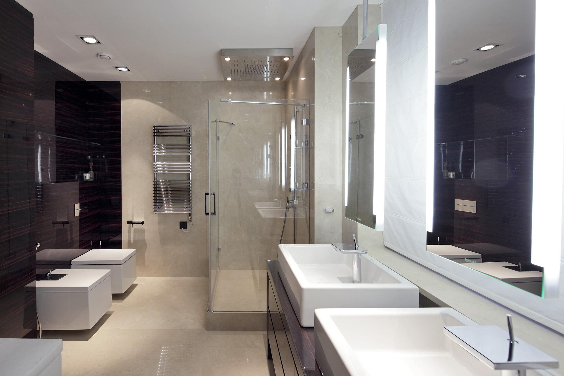 Design uri moderne pentru bai din marmura Architecture si