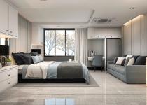 Pardoseala de marmura pentru dormitor