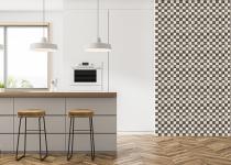 Perete cu mozaic de marmura pentru bucatarie